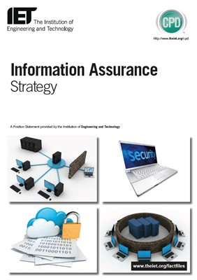 IET factfile: Information assurance strategy