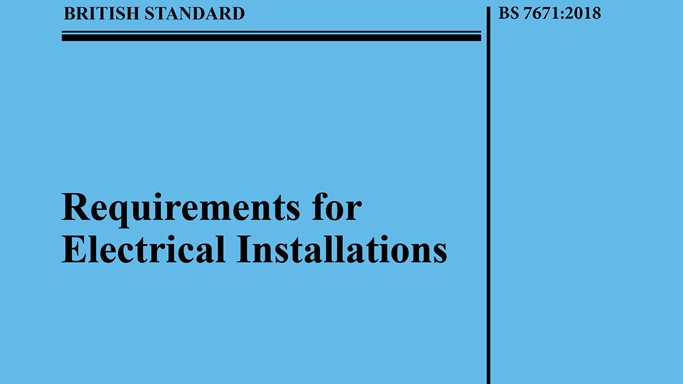 The Draft for Public Comment for Amendment 1 to BS 7671:2018 is available from 1st October 2019. View the draft and give your feedback by 30th November 2019.