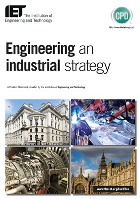 manufacturing industrial strategy cover