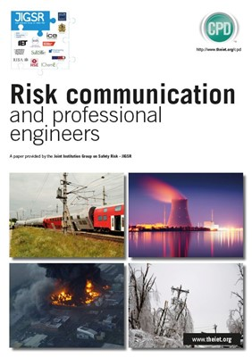 JIGSR factfile: Health and Safety - Risk communication and professional engineers