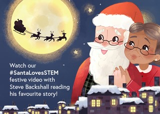 Santa loves STEM - 2019 IET campaign to inspire the next generation into STEM