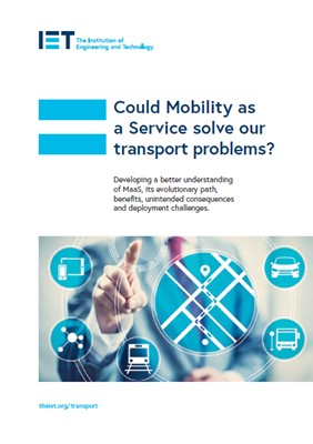 IET factfile: Could Mobility as a Service solve our transport problems?