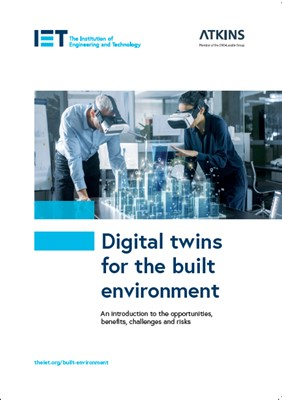 Cover image for Digital twins for the built environment