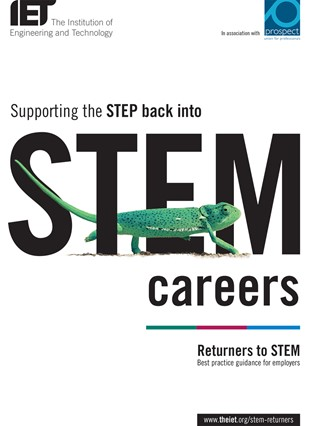 STEM Returners Guide cover