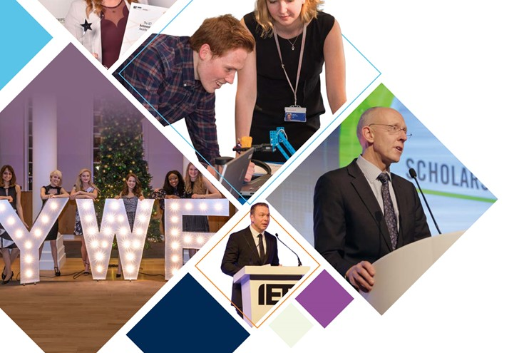 2017 IET Annual Report cover image