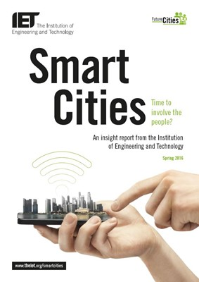 IET factfile: Smart cities - time to involve people?